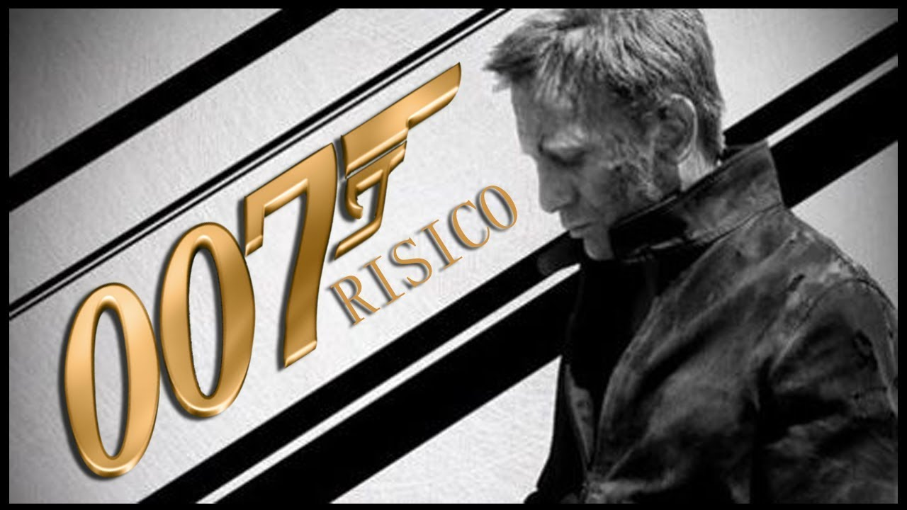 risico fan art poster daniel craig