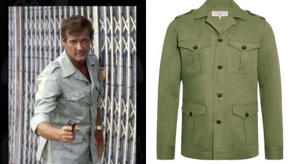 Safari Jacket roger moore