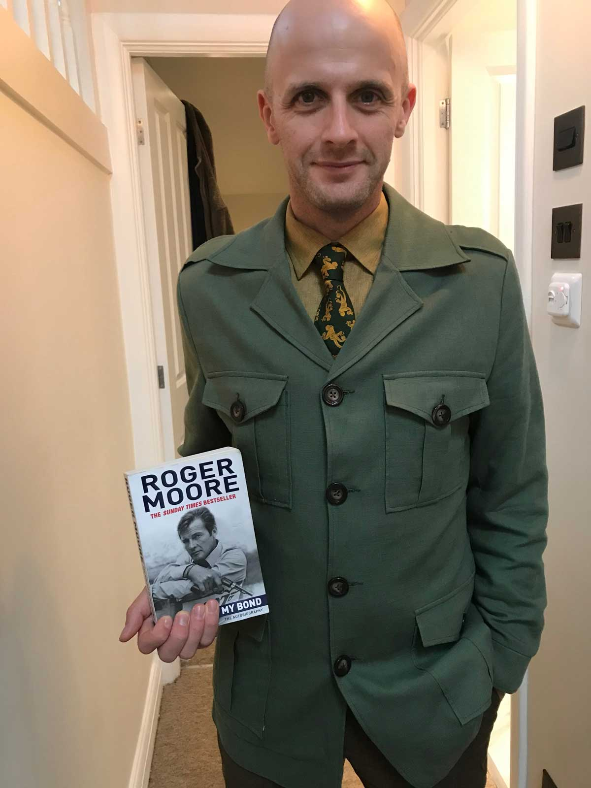 Roger Moore safari Jacket