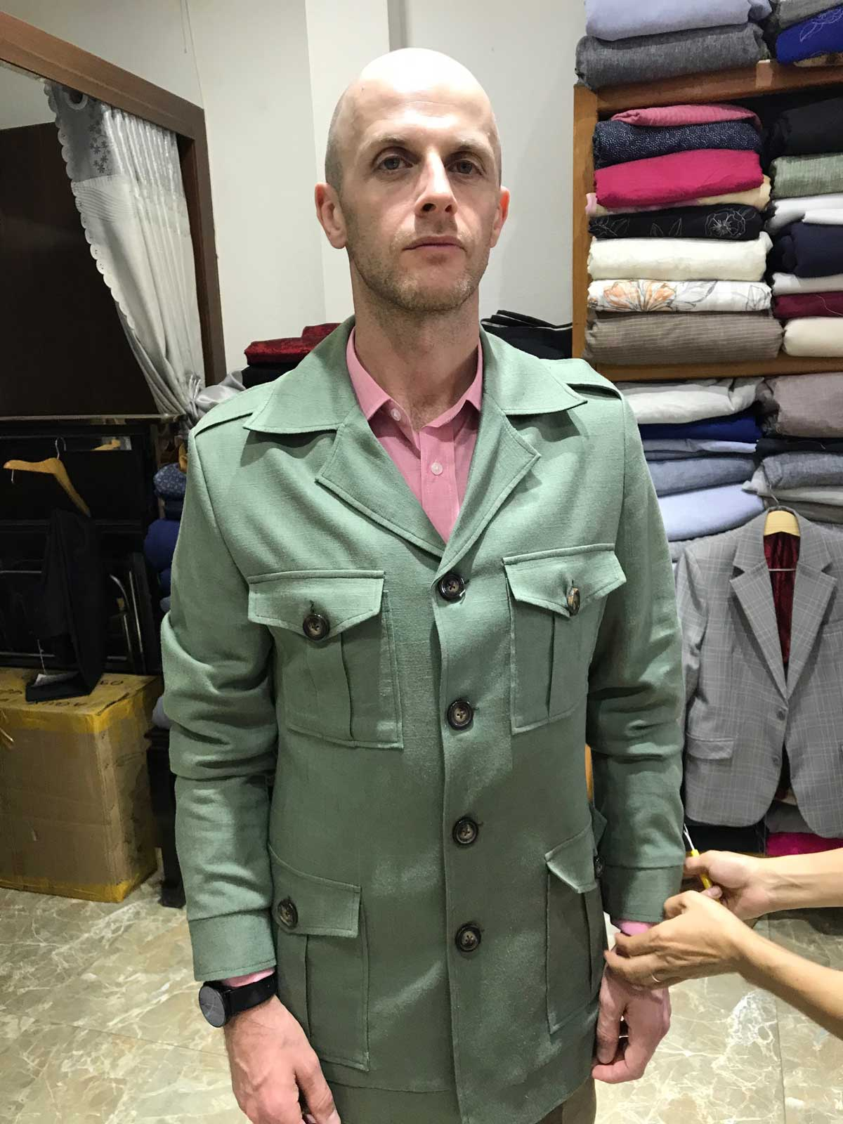 Hoi An Tailors James Bond Safari Jacket