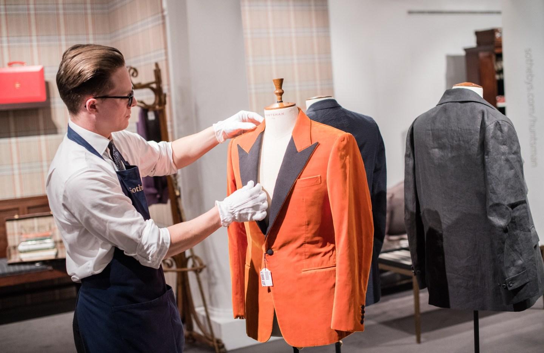 orange jacket auction at huntsman