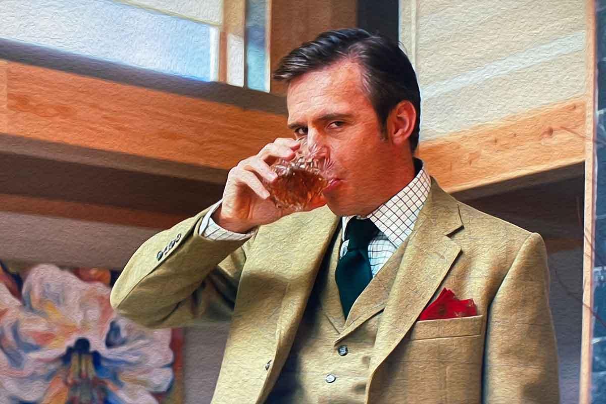 jack davenport drinking