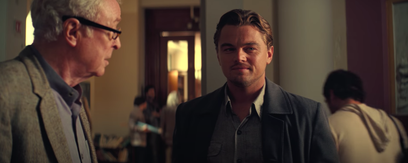 Inception michael caine leo di caprio