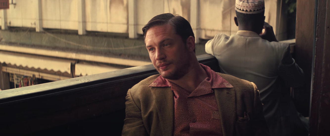tom hardy style pink paisley shirt