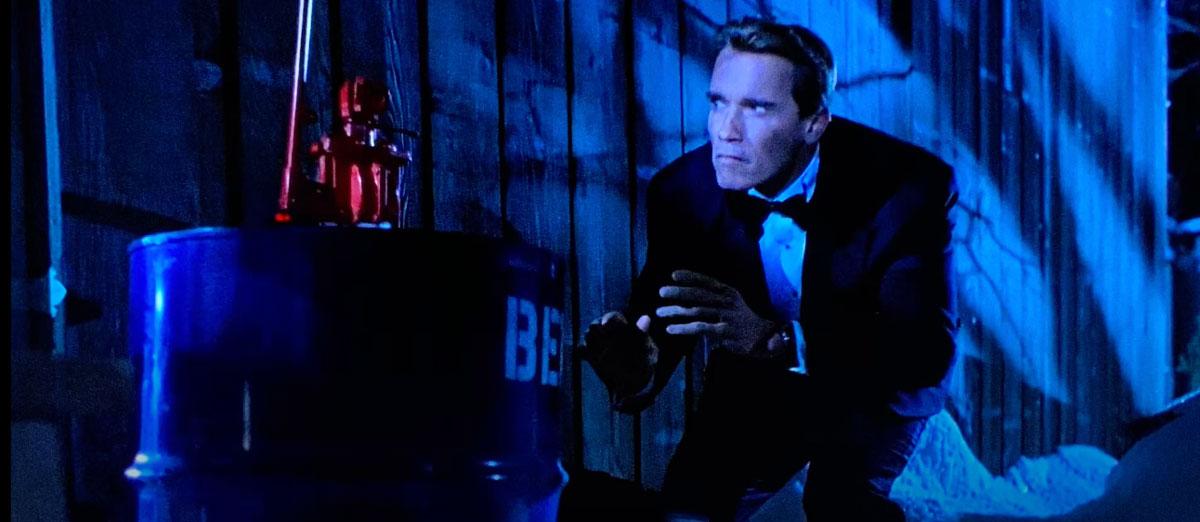 Arnold Schwarzenegger tuxedo True Lies