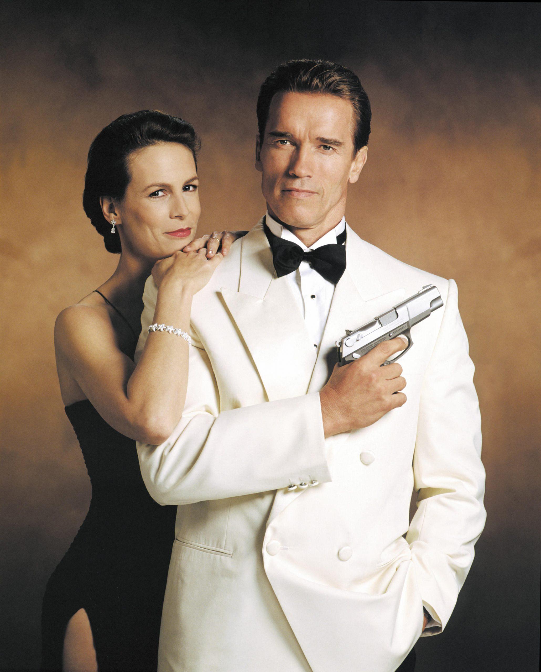 Arnold Schwarzenegger White Tuxedo True Lies