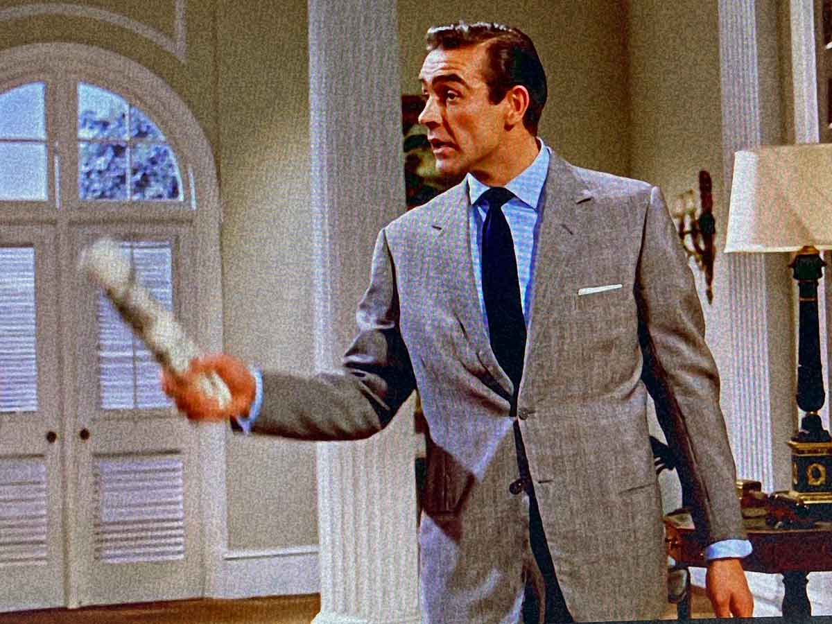 full cut sean connery Anthony Sinclair suit in Dr. No