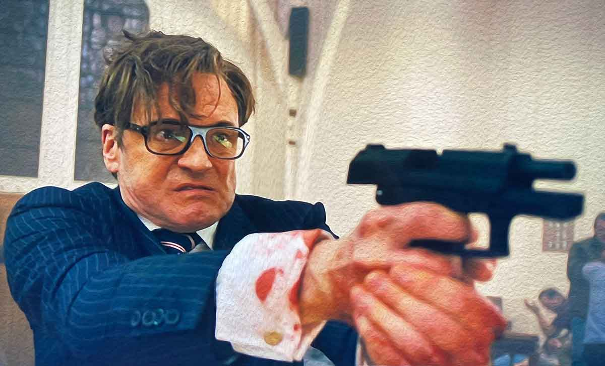 colin firth church scene kingsman