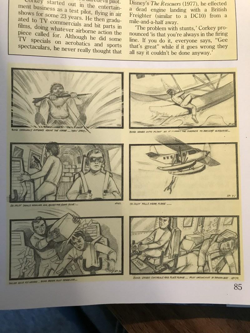 Licence to Kill storyboard