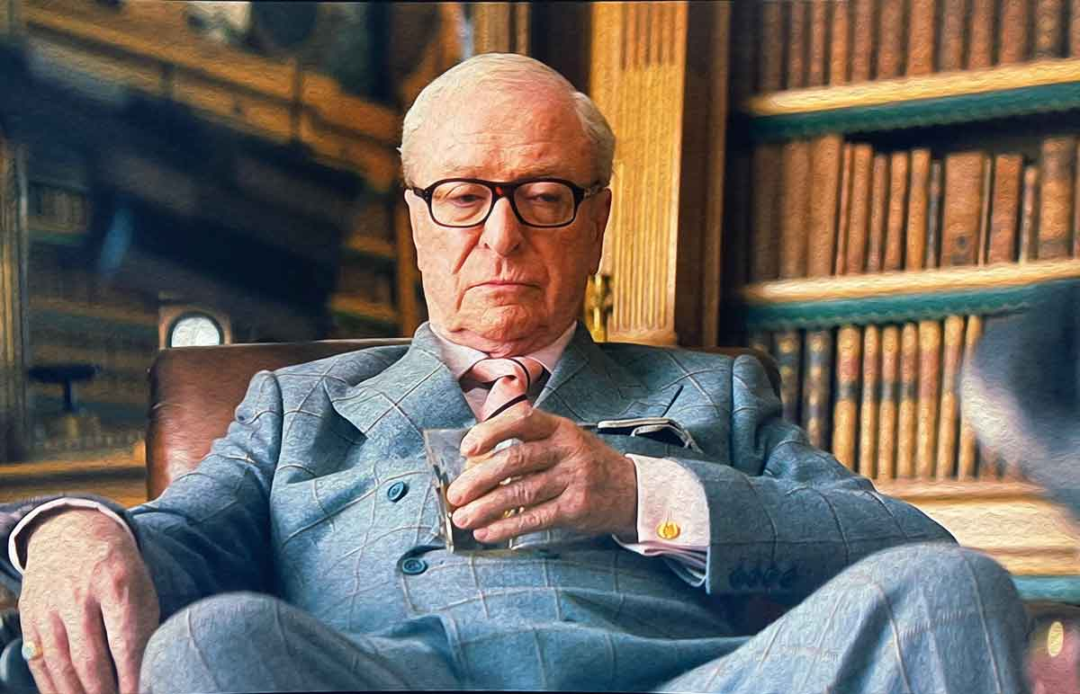 michael caine window paine suit kingsman