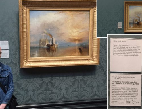 SKYFALL | THE NATIONAL GALLERY | THE FIGHTING TEMERAIRE WITH JAMES BOND
