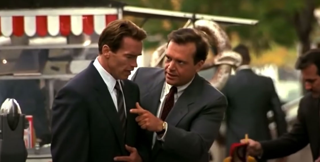 Arnold Schwarzenegger Tom Arnold True Lies