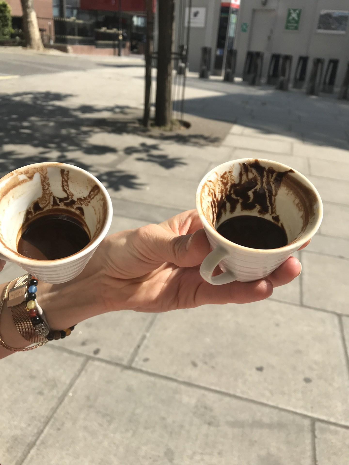 Turkish coffee cup reading YouTube