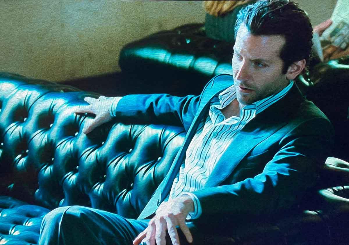 Bradley Cooper Limitless open shirt