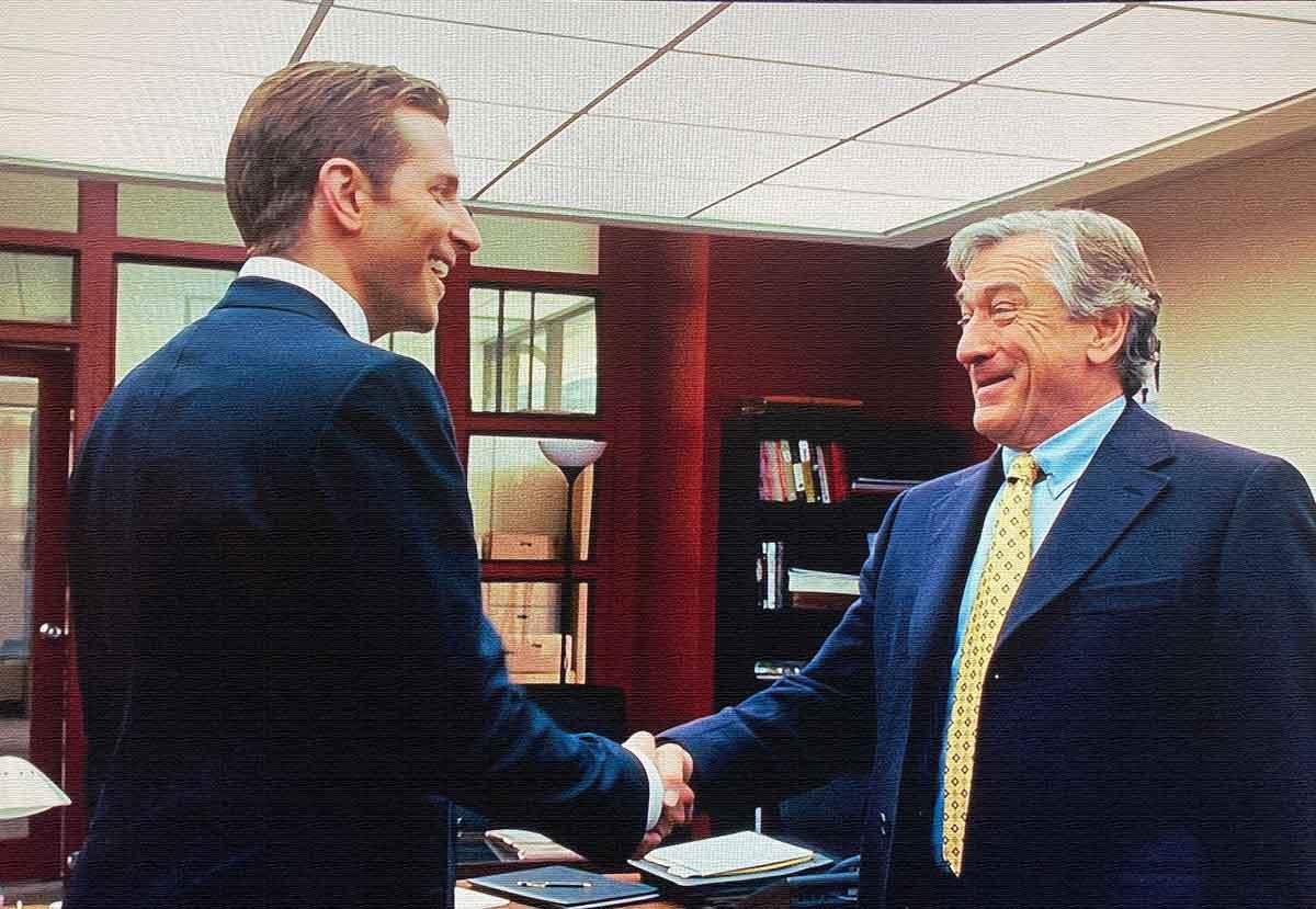 cooper meets de niro shakes hands ending