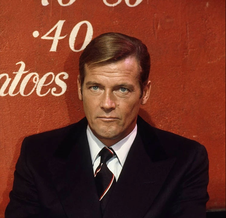 roger moore in benson and clegg who made james bond ties