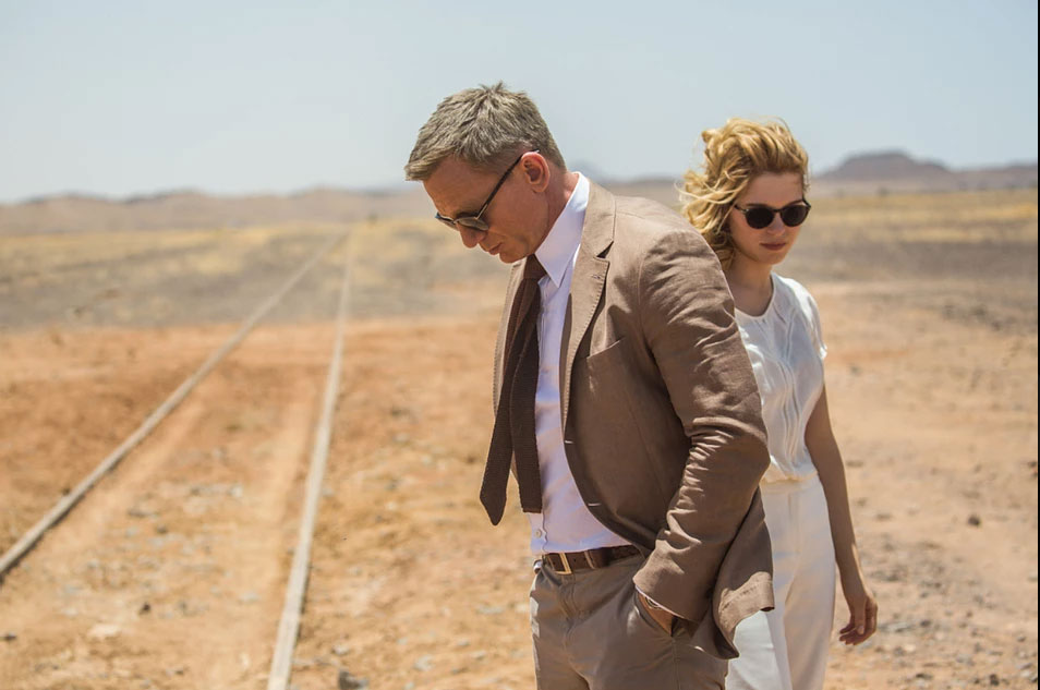 spectre morocco daniel craig james bond ties