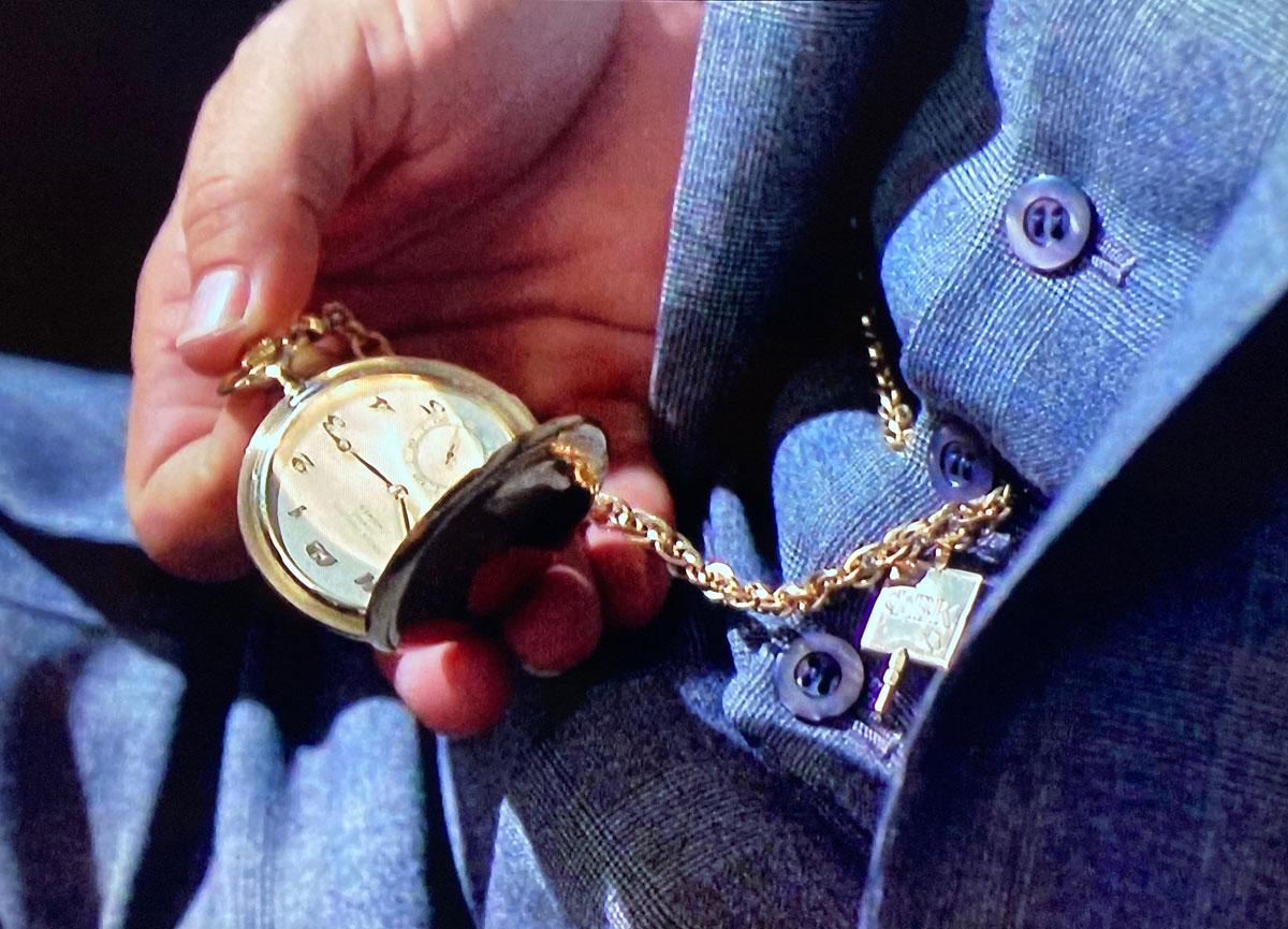 The Thomas Crown Affair pocket watch