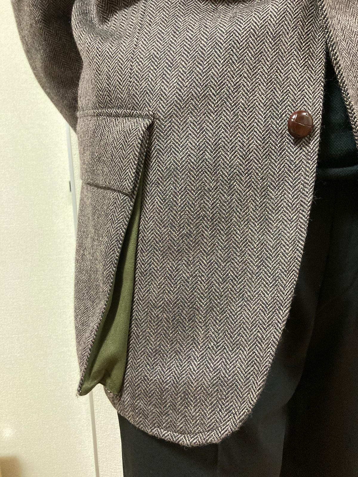 Norfolk Jacket bellows patch pocket