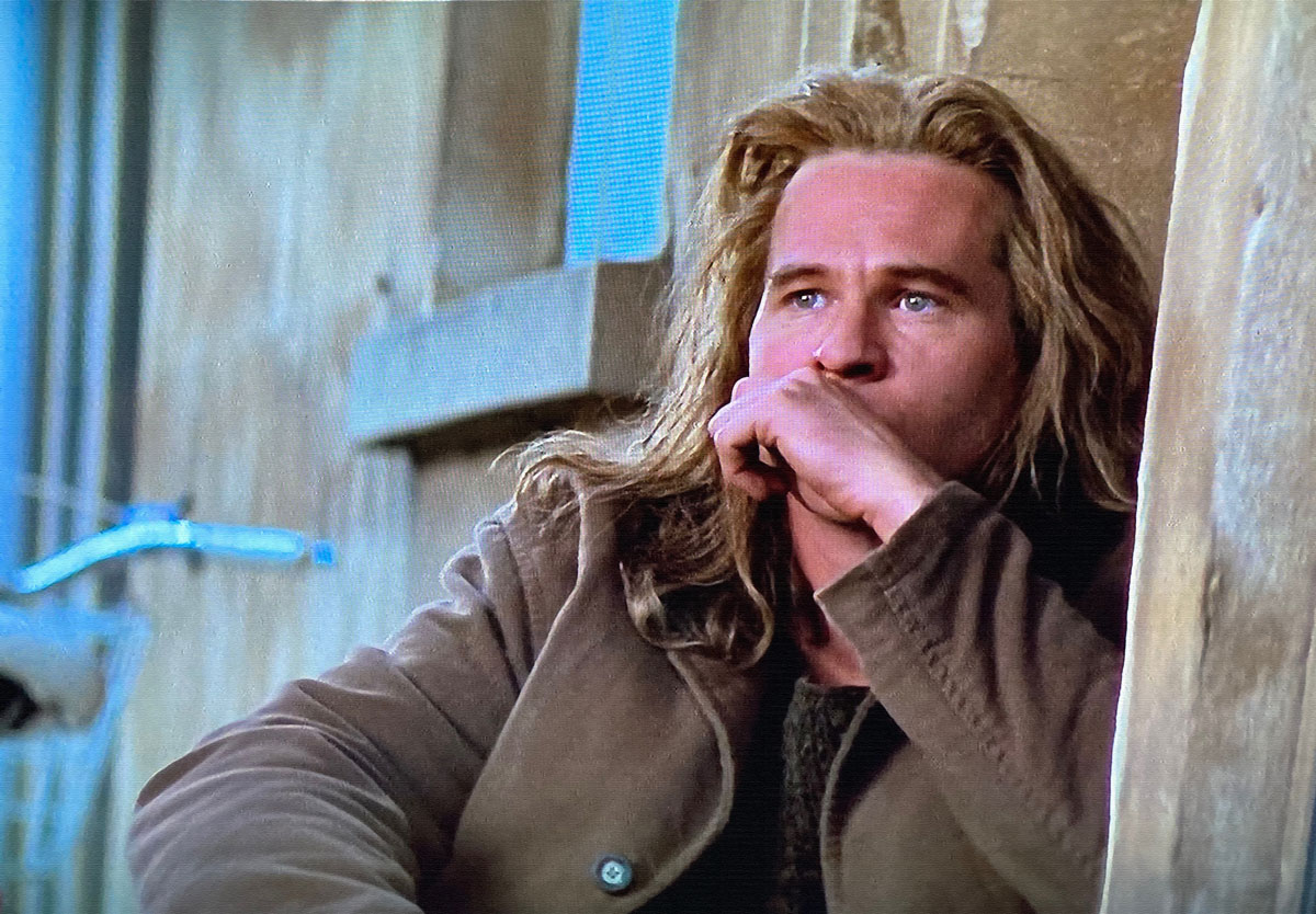 The Saint val kilmer the poet