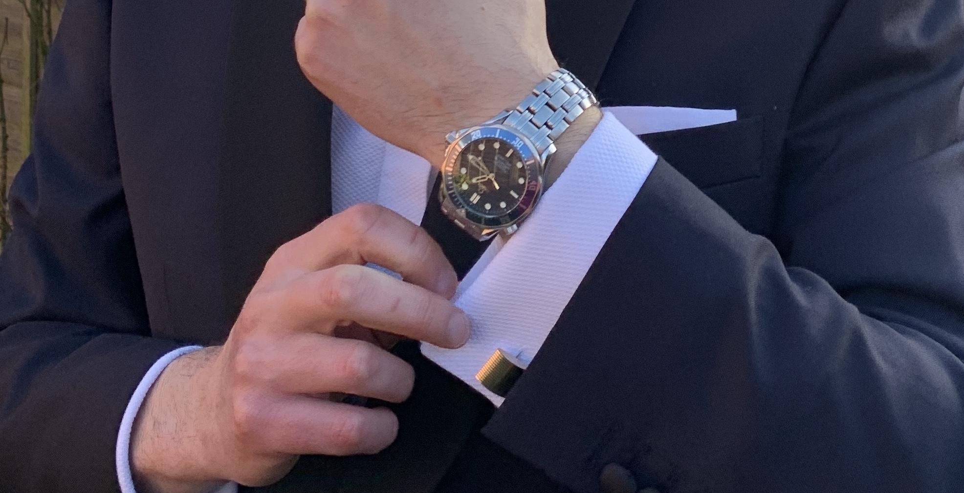 Cufflinks from Casino Royale
