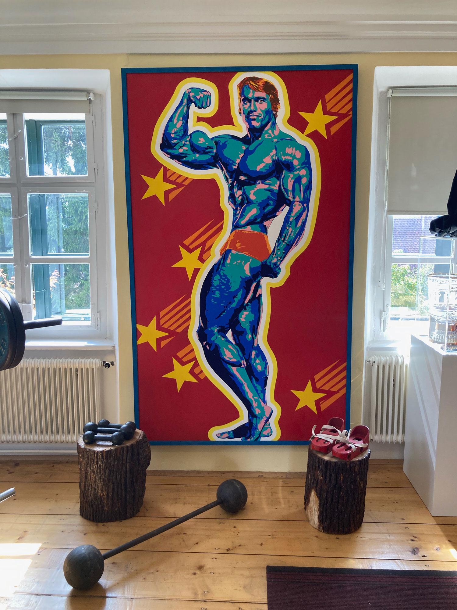 Arnold Schwarzenegger Museum artwork
