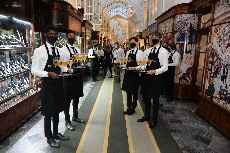Burlington Arcade Reception Bollinger London