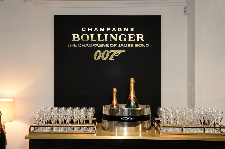 Burlington Arcade Bollinger Bar