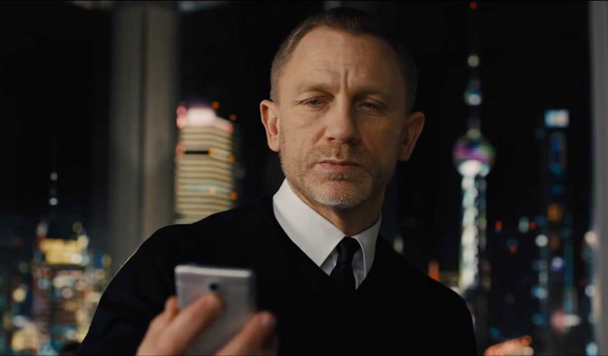 Daniel Craig slim fit shirt Skyfall