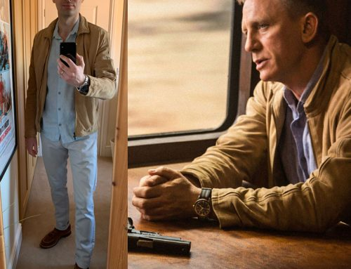 Bond's Sky-Blue Orlebar Brown Morton Linen Shirt for his Train Ride to SPECTRE HQ | Review