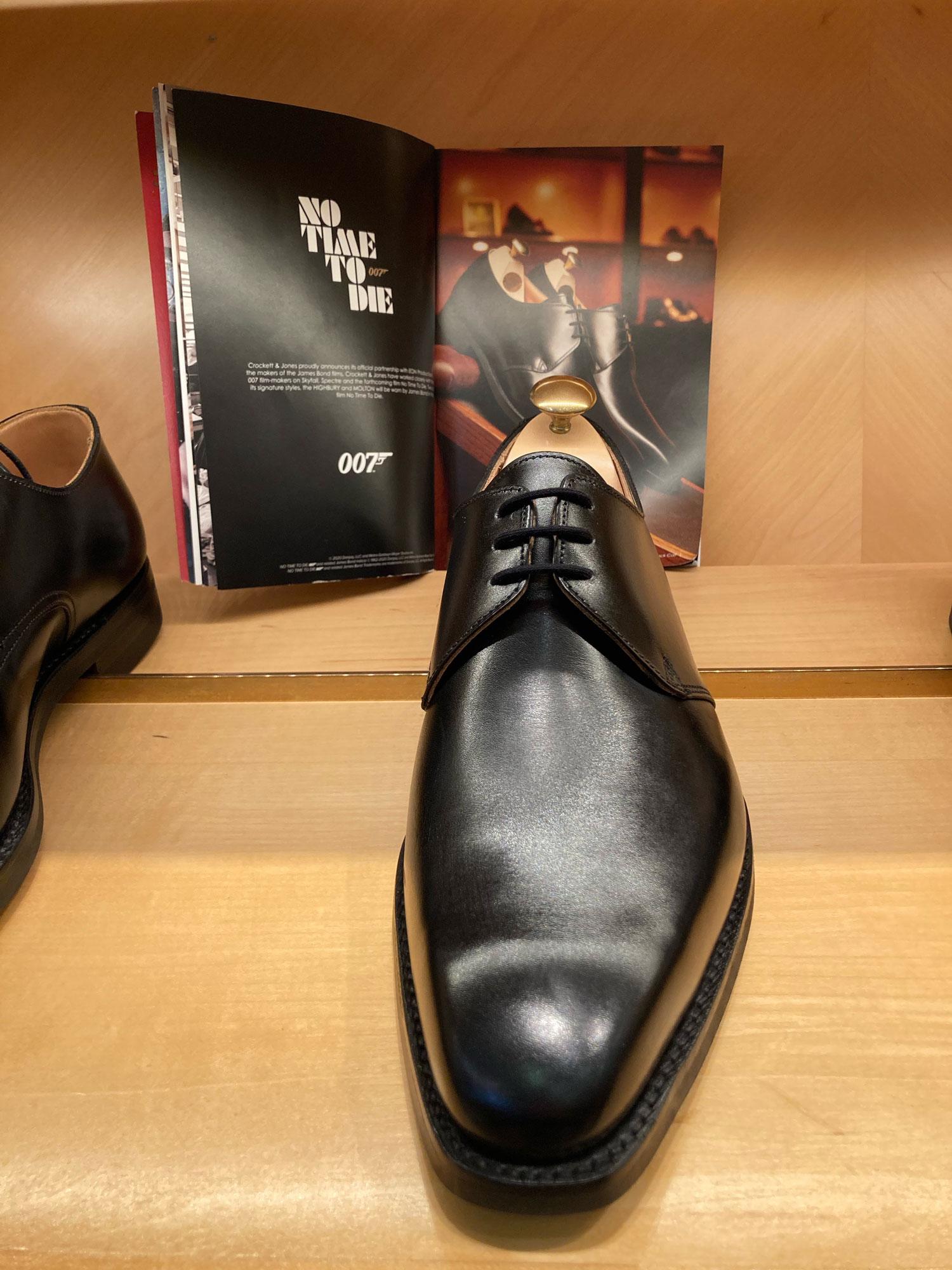 Crockett & Jones James Shoe and booklet