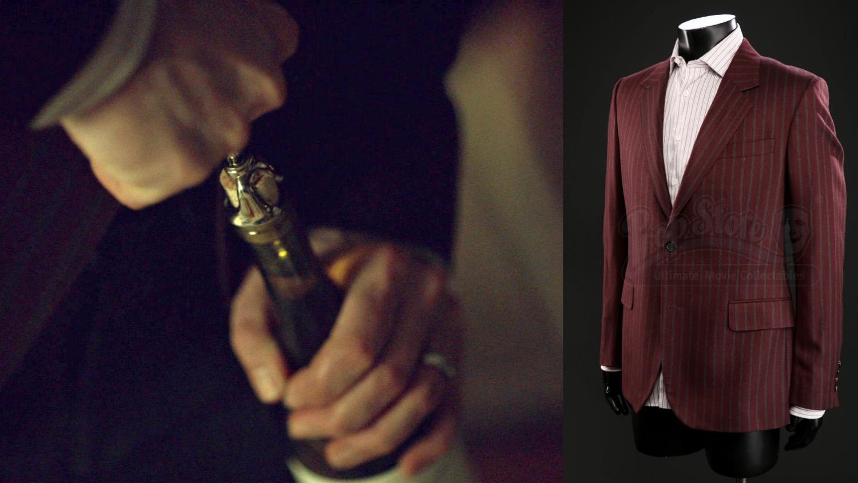 Alexander McQueen Maroon Sports coat on Prop Store