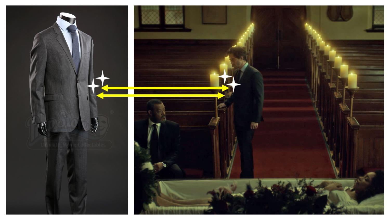 Funeral Suit Hugo Boss