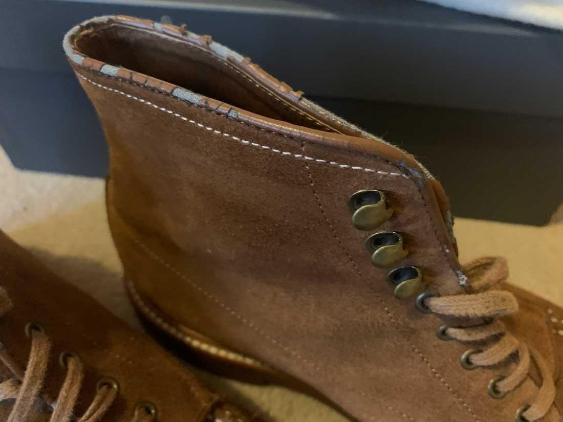 J. Crew boots wear
