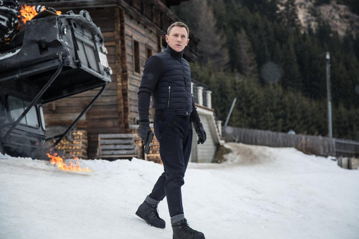 Agnelle Daniel Craig Spectre