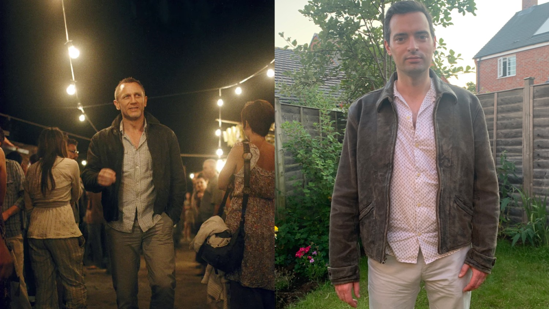 Leather Jacket from Skyfall Daniel Craig