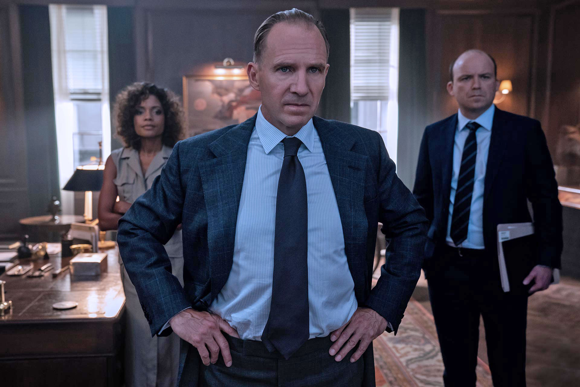 No Time To Die Tom Ford Ties ralph Fiennes