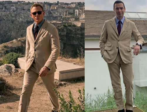 James Bond's Massimo Alba Sloop Suit (Customer Review) for his Chase in Matera