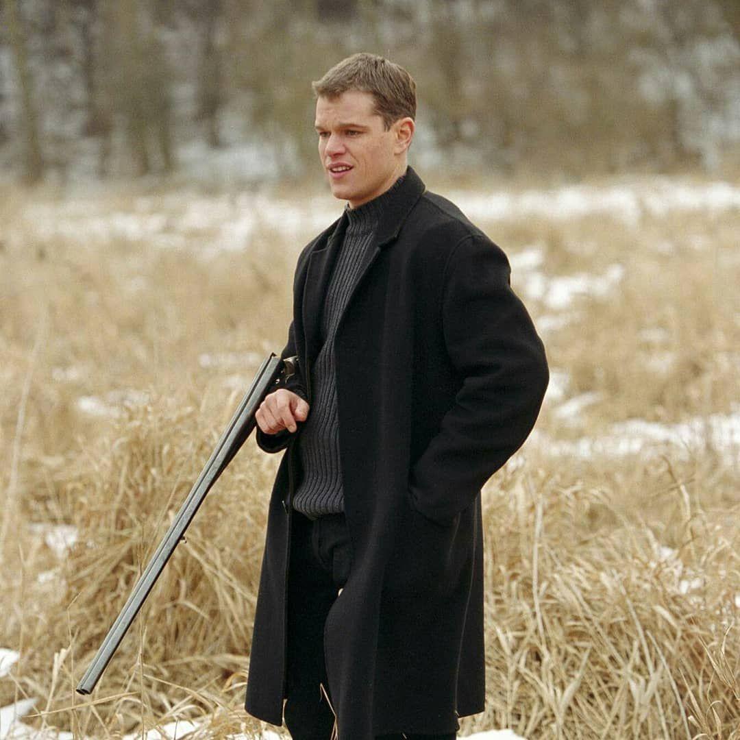 The Bourne Identity Matt Damon Top coat