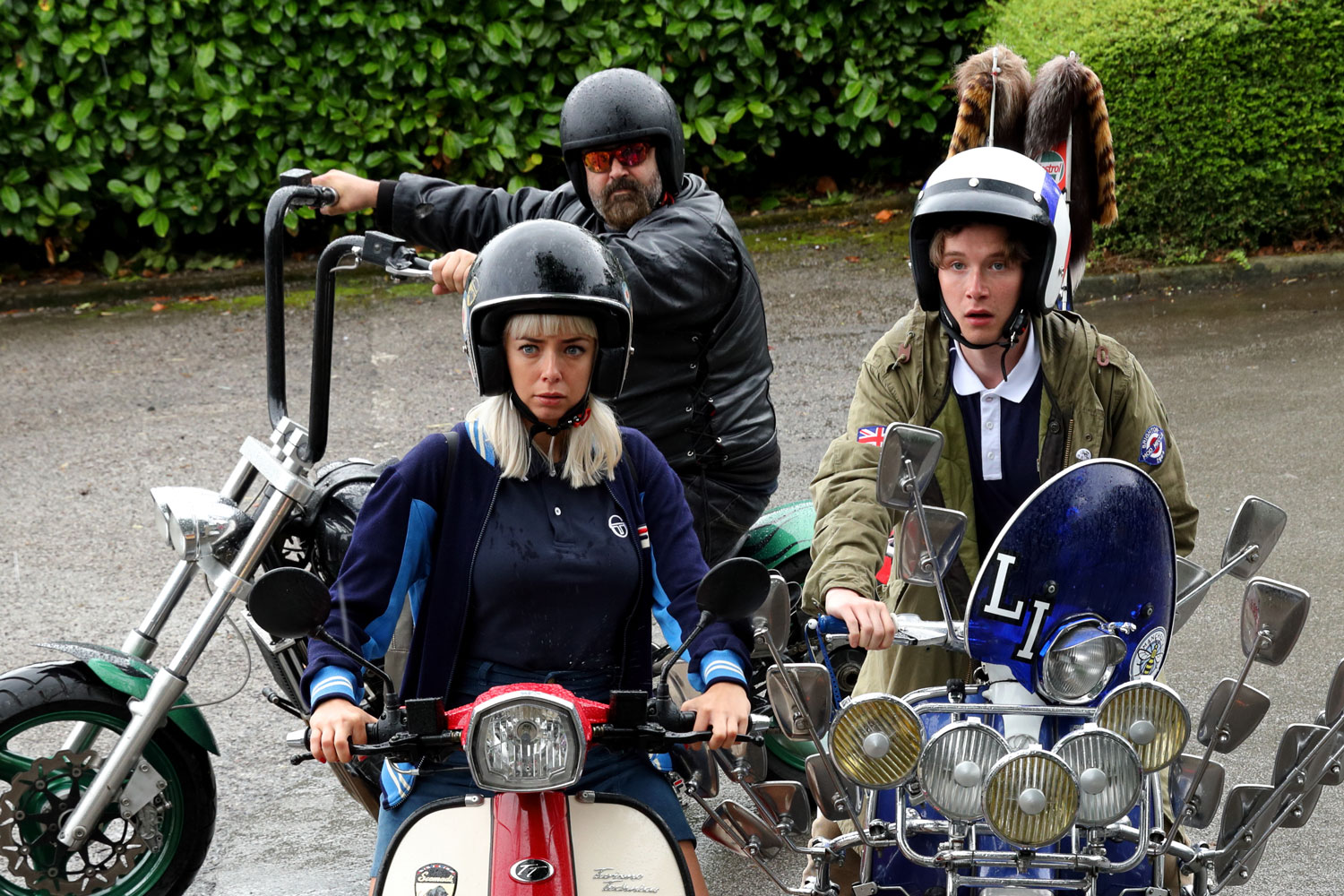 Mod Clothing and scooters