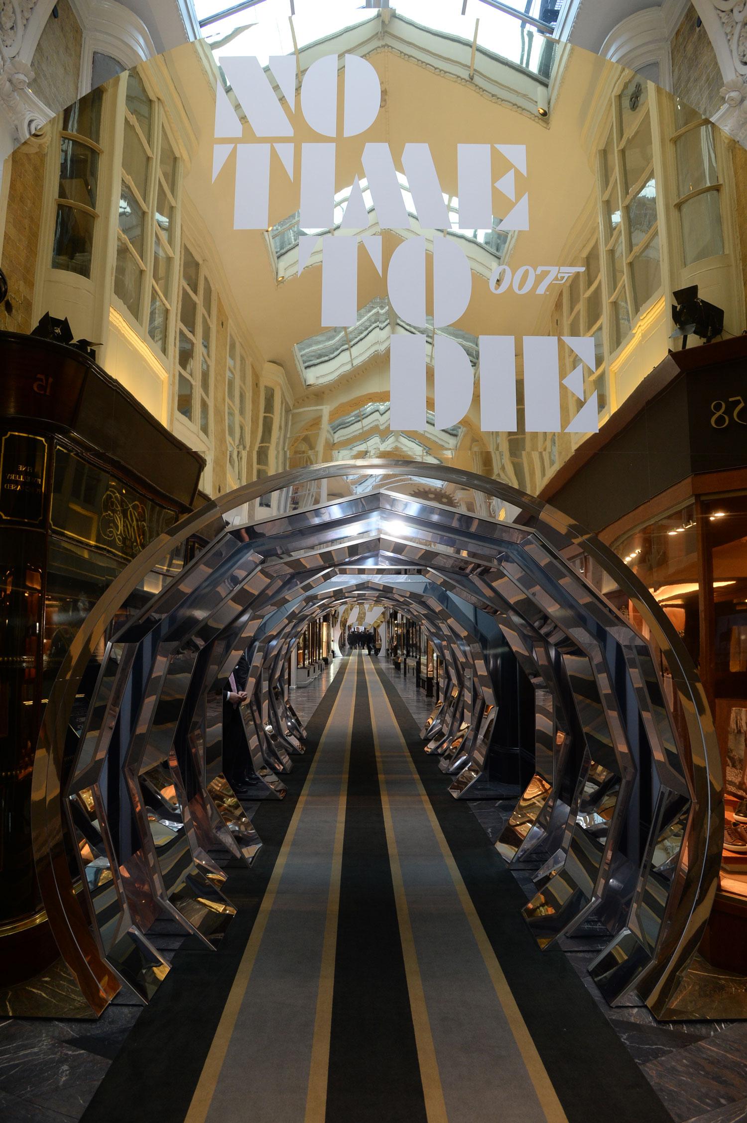 Burlington Arcade No Time to Die Mirror