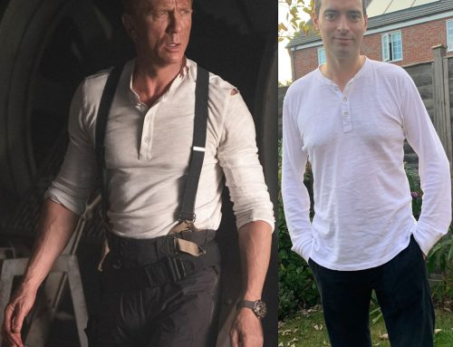 Bond's Rag & Bone Classic Long White Henley from No Time To Die | Review