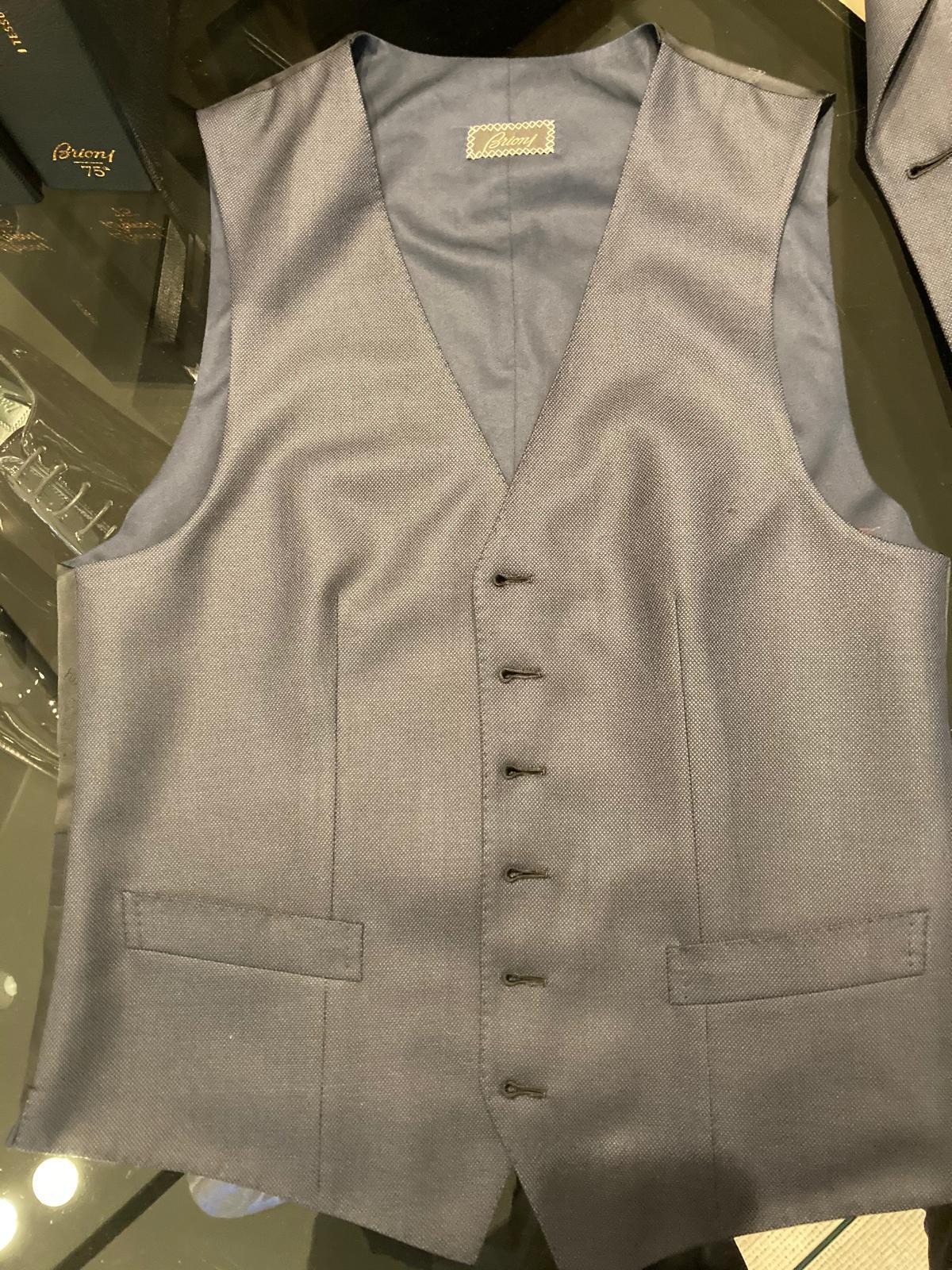 Brioni Bespoke waistcoat