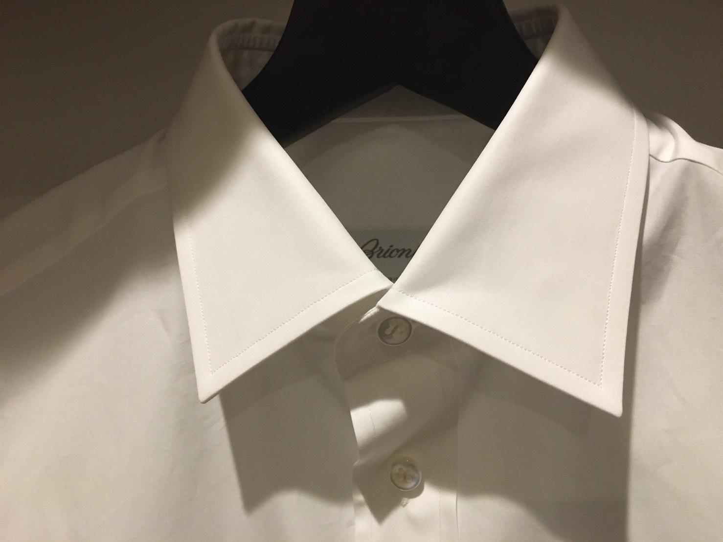 Brioni Bespoke Shirt collar