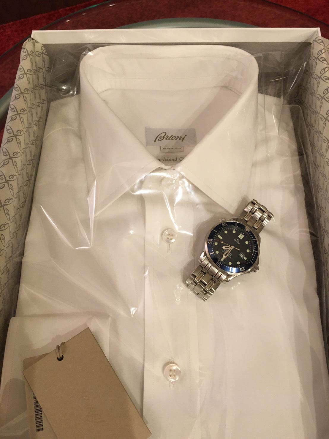Brioni Bespoke Shirt arrival