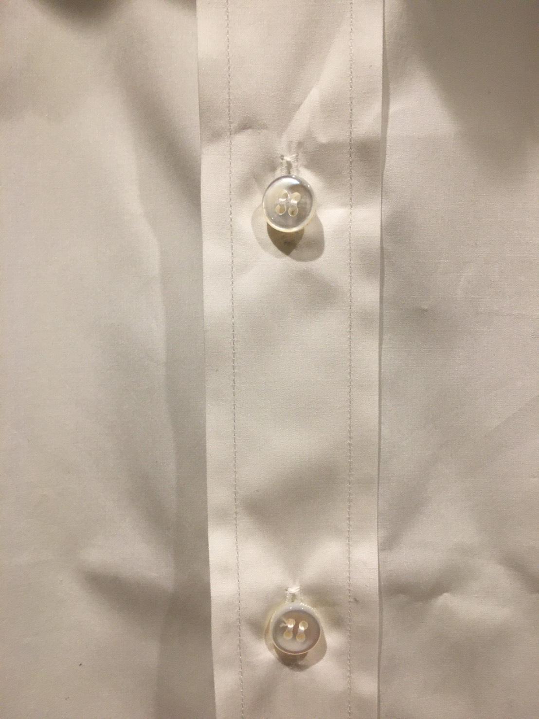 Brioni Bespoke Shirt plackett