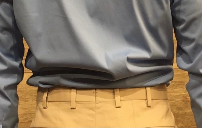 Bespoke Trousers belt loops