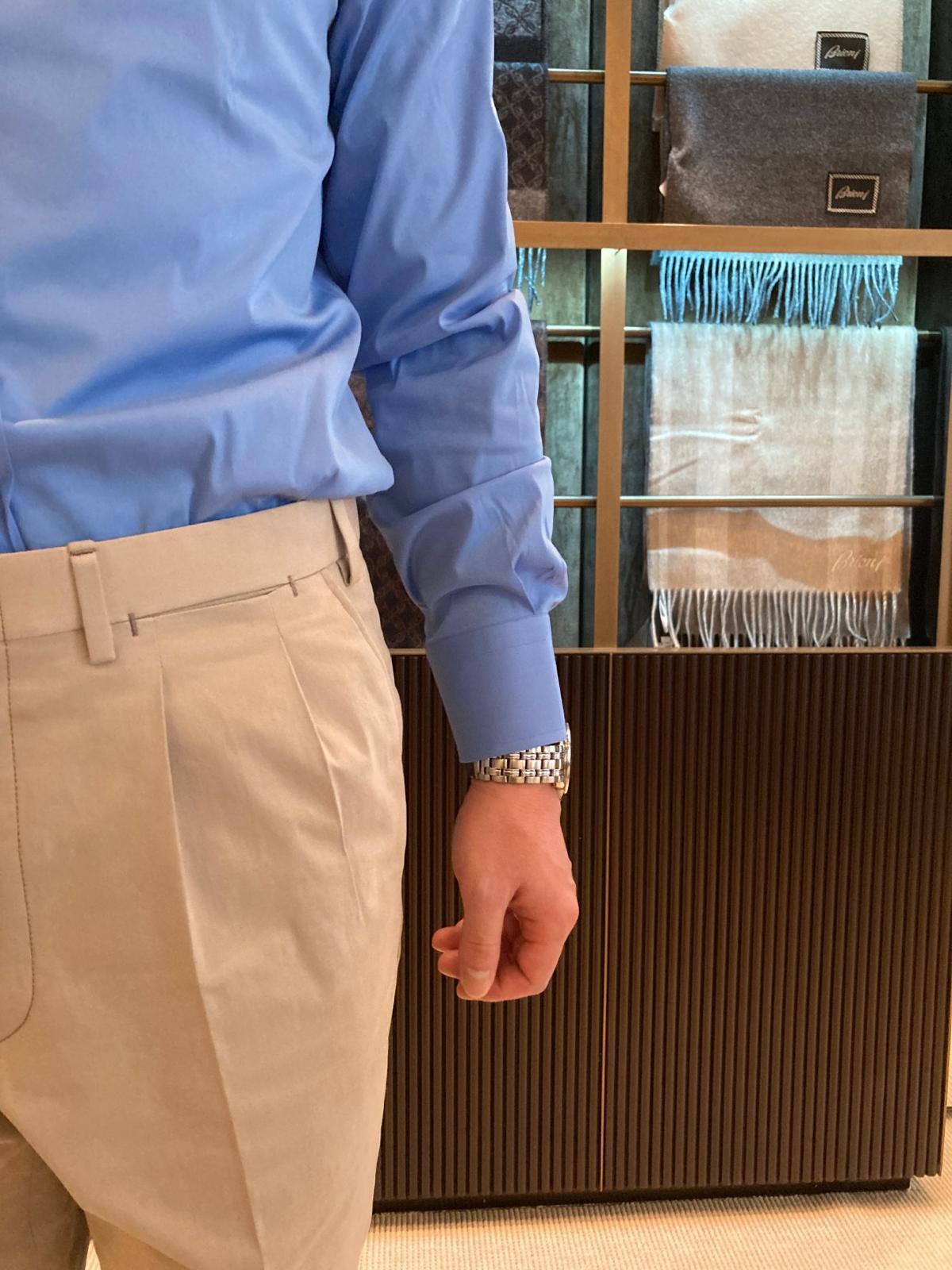 Bespoke Trousers pleats