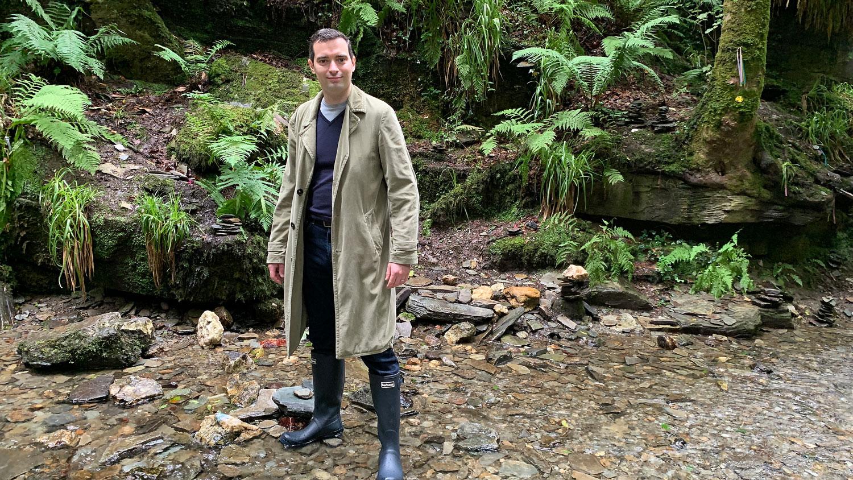 Style Jacket Daniel Gaster wearing the Duster Jacket