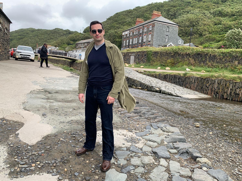 Duster Coat Daniel Gaster on Location